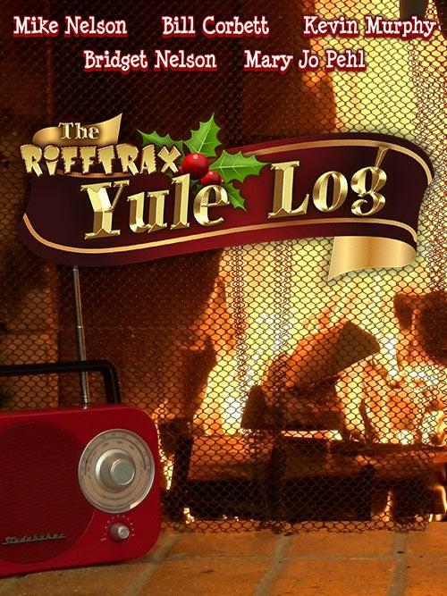 Free yule log video download.